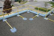 ROOF RAILINGS,  KEY SAFETY ROOF RAILING,  MEETS OSHA ROOF SAFETY
