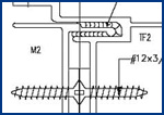 Steel detailing services,  steel construction drawings