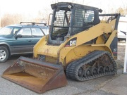 "2004 CAT 257B WITH ORPS NEW TRACKS RUBBER 100% 66"" BUCKET"
