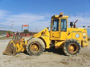 1984 JOHN DEER 544C WHEEL LOADER WITH 4 IN 1 BUCKET WORKS GOOD $19, 500